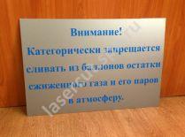 Табличка на дверь Внимание