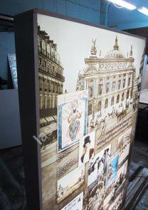 Интерьерный световой короб для музея