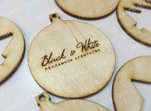 Декоративное изделие из фанеры с логотипом