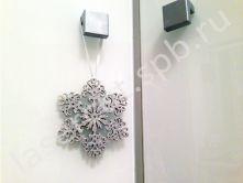 Снежинки для декора интерьера