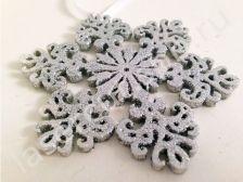 Декоративная снежинка из фанеры